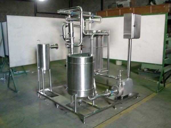 Pasteurizador HTST