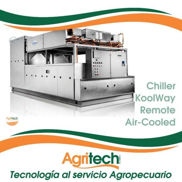 Chiller KoolWay® Remote Air-Cooled