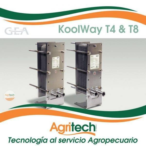 Intercambiador de calor a placas KoolWay® T4 & T8